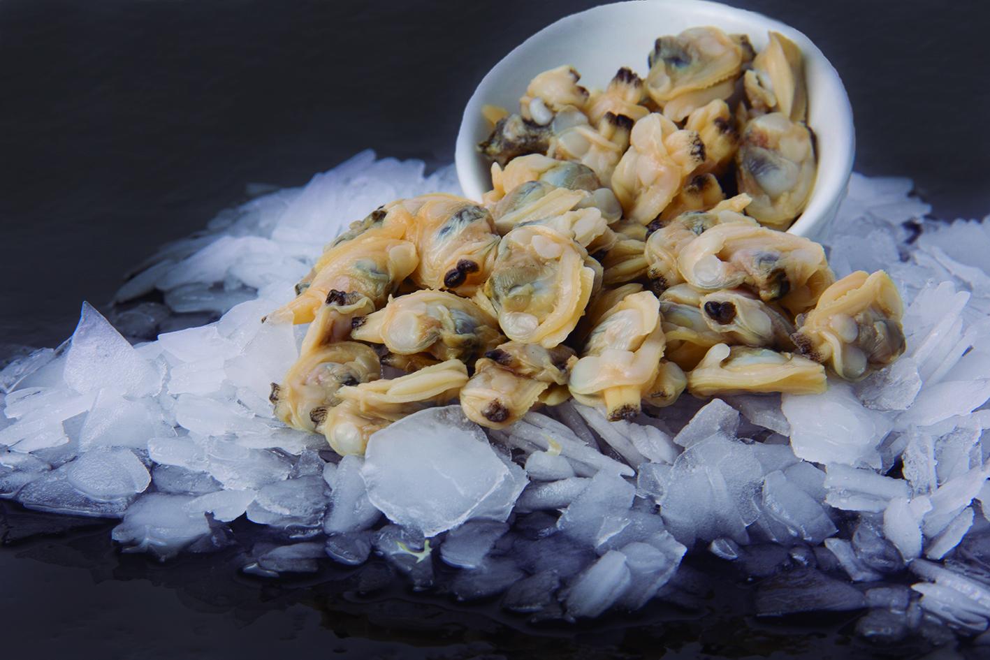 Clam meat (Paphia undulata)